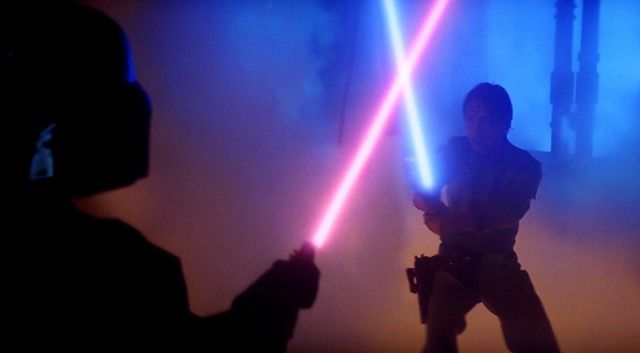 Watch a lightsaber duel at the Star Wars Family Fun Fest this Saturday (Photo Credit: Moviepilot)