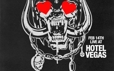 Valentine's Day at Hotel Vegas!! with Tributes to Motorhead, ACDC, Neil Young & Crazy Horse! Plus special early performance by The B-Stars!