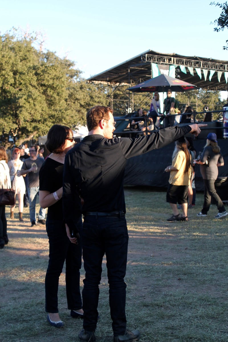 Michael Fassbender at Fun Fun Fun Fest