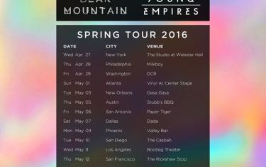 Bear Mountain & Young Empires at Stubb's BBQ