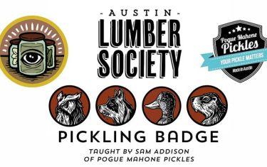 Lumber Society Pickling Badge