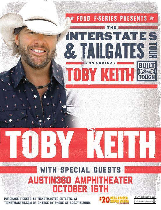 Toby Keith 2016 Tour