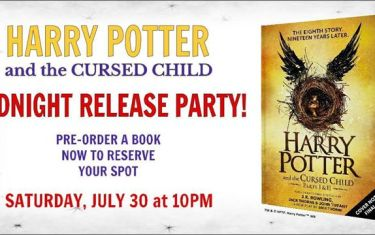 Harry Potter Midnight Release Party!