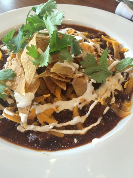 Frito pie special at The Leaning Pear