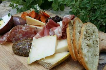 The pantry board appetizer