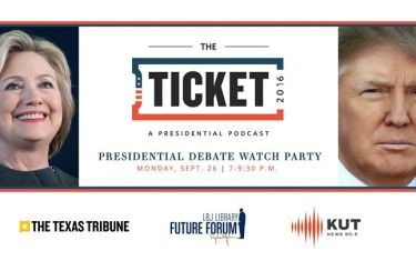 The Ticket and Presidential Debate Watch Party
