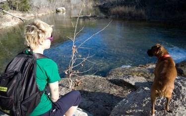 Austinites Love Swimming At Twin Falls Along Barton Creek Greenbelt