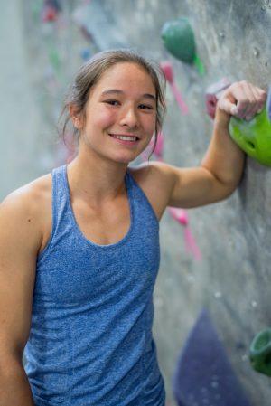 maya madere rock climbing bouldering austin rock gym