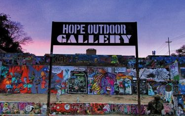 Let's All Help HOPE Outdoor Gallery Kickstart Their Coffee Table Art Book!