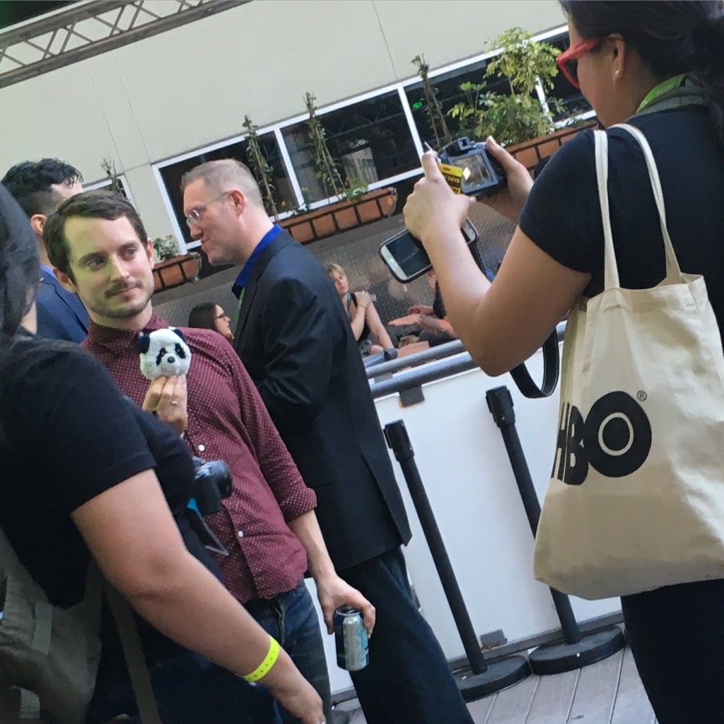 Elijah Wood at a SXSW party in 2016.