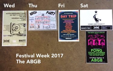 Festival Week at The ABGB