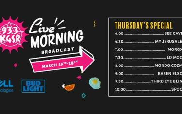 SXSW Live Morning Broadcast: Spoon, Third Eye Blind, & More!