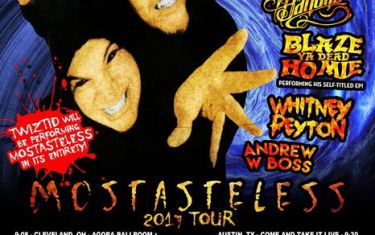 Twiztid (Performing 'Mostasteless' in its entirety!) and more!