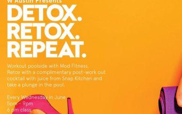DETOX RETOX Repeat with MOD Fitness