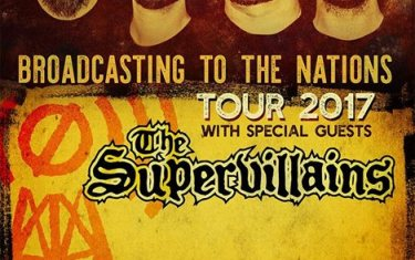 Authority Zero and The Supervillains at Stubb's Indoors 8/9!