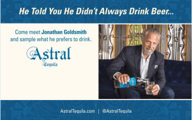 ASTRAL Tequila Party featuring Guest Appearance by Jonathan Goldsmith