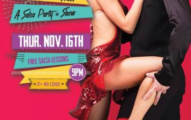 The Rose Room Latin Flair: A Salsa Party & Show