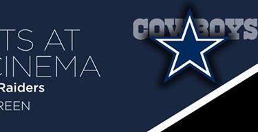 Cowboys Vs. Raiders (Sports At The Cinema) – Community Cinema