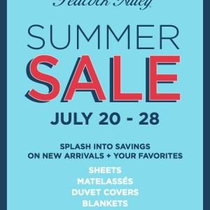 Peacock Alley Summer Sale