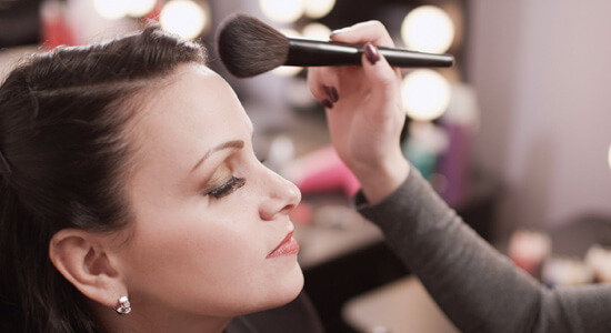Make Up Application services Menu of Services makeup