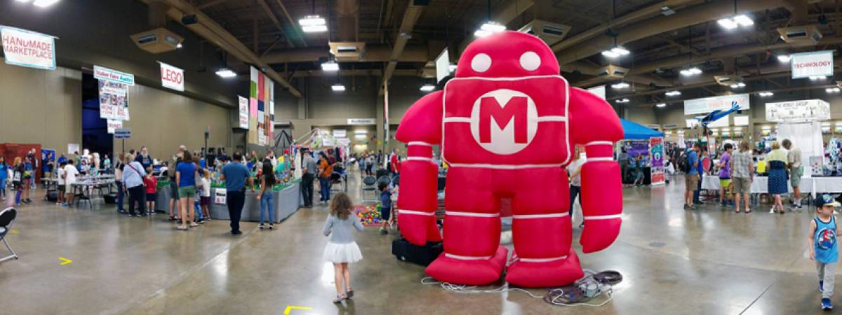 Maker Faire 2018 Robot