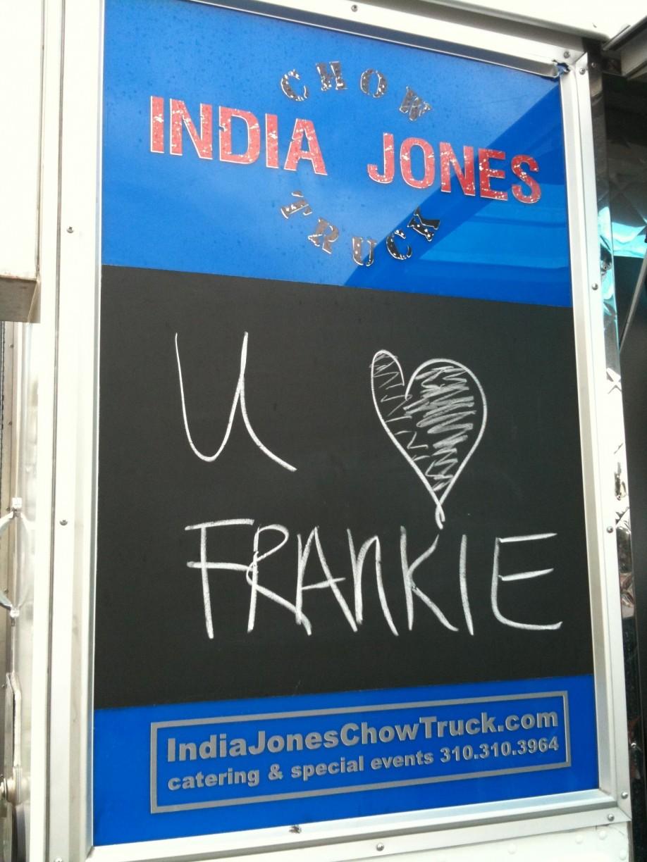 India Jones frankie