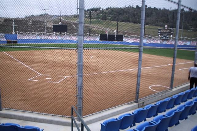 Dodger replica stadium