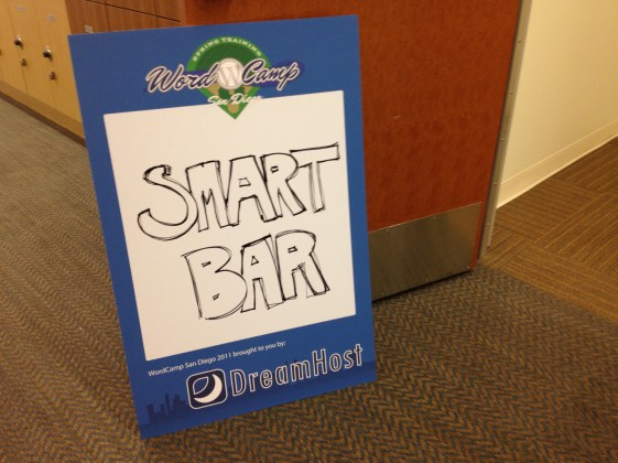 WordCamp SD Smart Bar