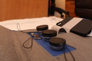 Photojojo iPhone lens wallet magent hoder