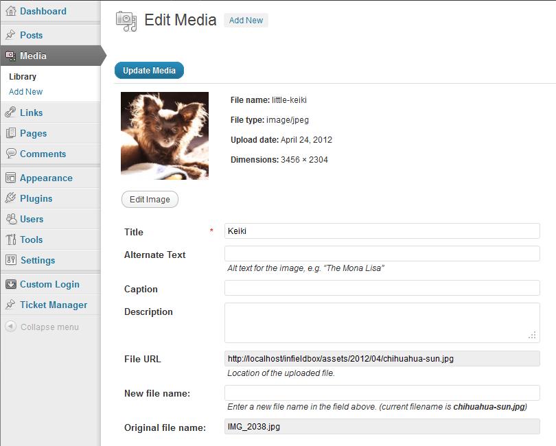 SEO Media File Renamer
