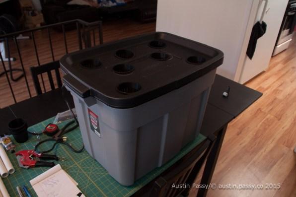 DIY Hydroponic Box