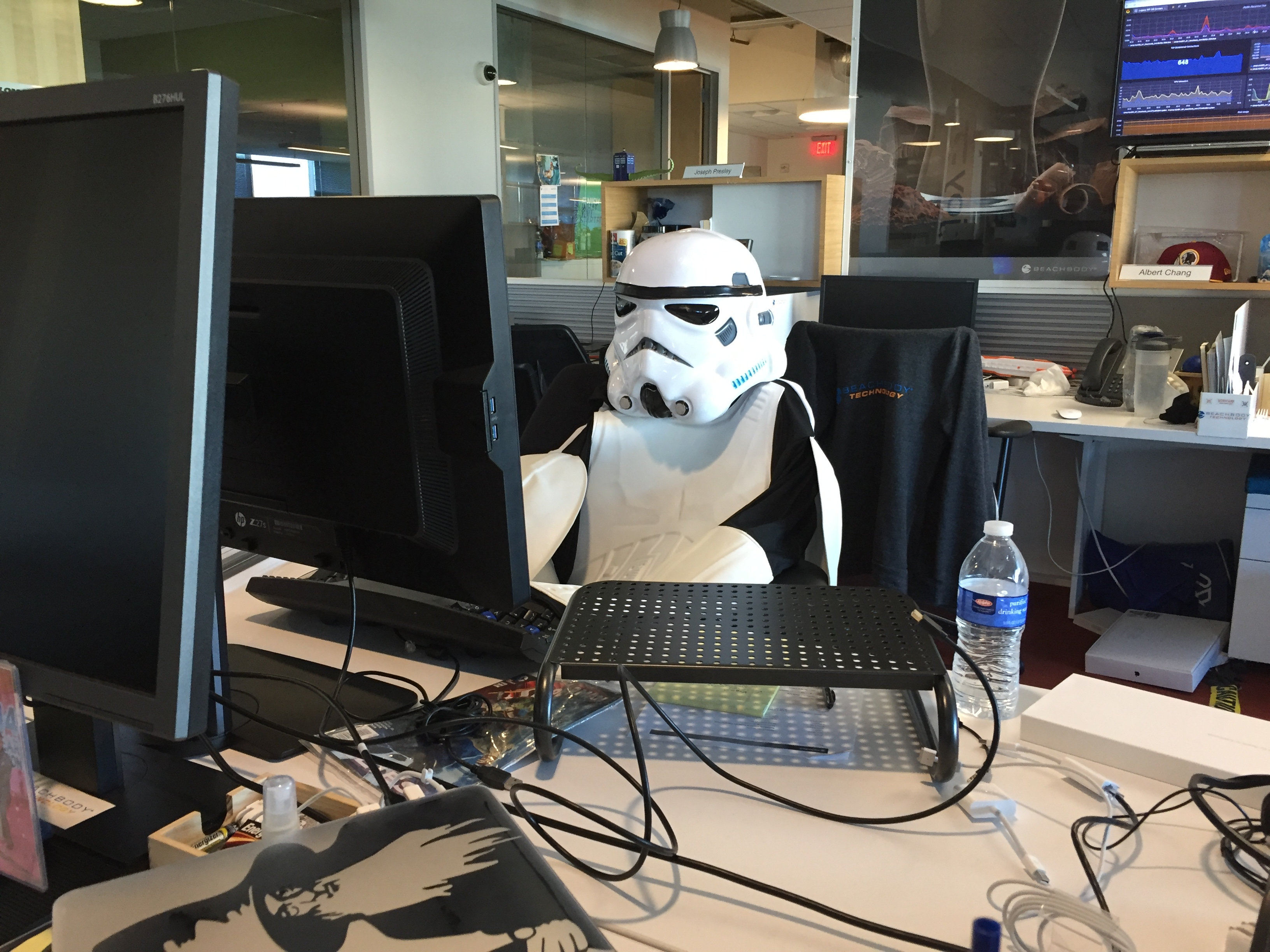 "Stormtrooper ""Developer"" at Beachbody Technology"