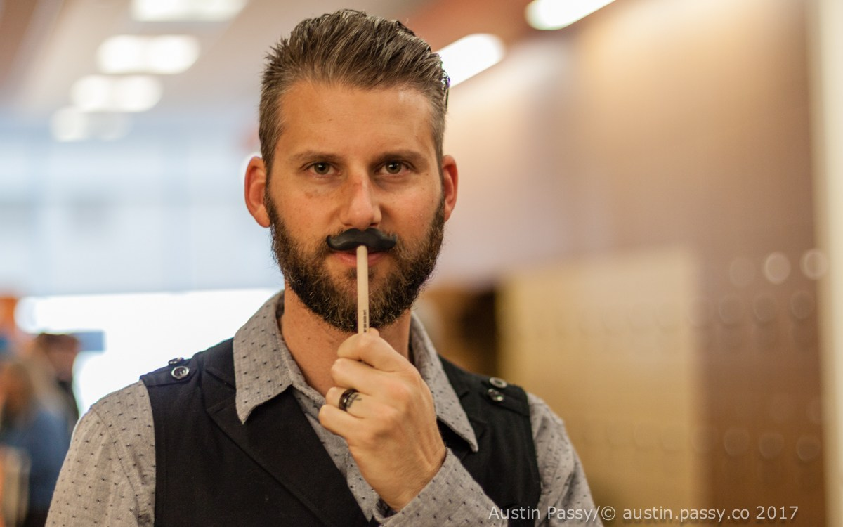 WordCamp SD Mustache Pen
