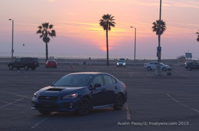 2015 WRX Santa Monica Sunset HDR