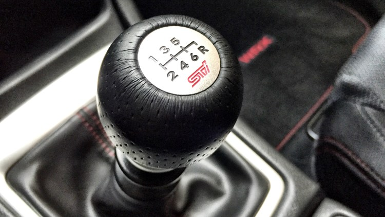 STi short throw shifter