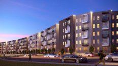 Aura On Lamar Apartments Head for North Loop's 'Friendly Whale'