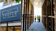 FIRST LOOK: Austin Proper, Under Construction in the 2nd Street District