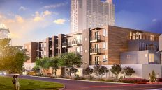 At Downtown Austin's Block 36, 'Micro-Unit' Apartments and Billboards Mingle
