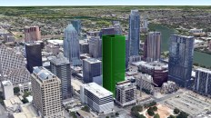 Take a Look at the 45-Story Apartment Tower Headed for Fifth and Lavaca
