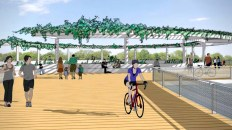 We've Got Options for East Austin's New Longhorn Dam Pedestrian Bridge