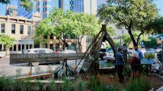 Spotted: Austin's PARK(ing) Day Makes Parking Spaces Public on Congress