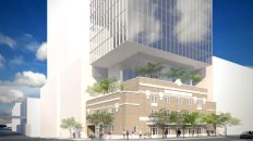 A Tower's Headed for Downtown Austin's Historic Royal Arch Masonic Lodge