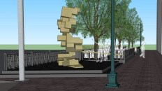 Sidewalk Cafe, 'Weird' Statue Planned for Scarbrough Building on Congress