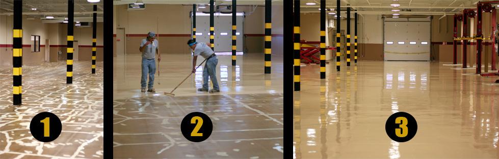 The Flooring Process