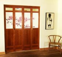 Double Cherry Bi-folding Doors   Michael Yates Design ...