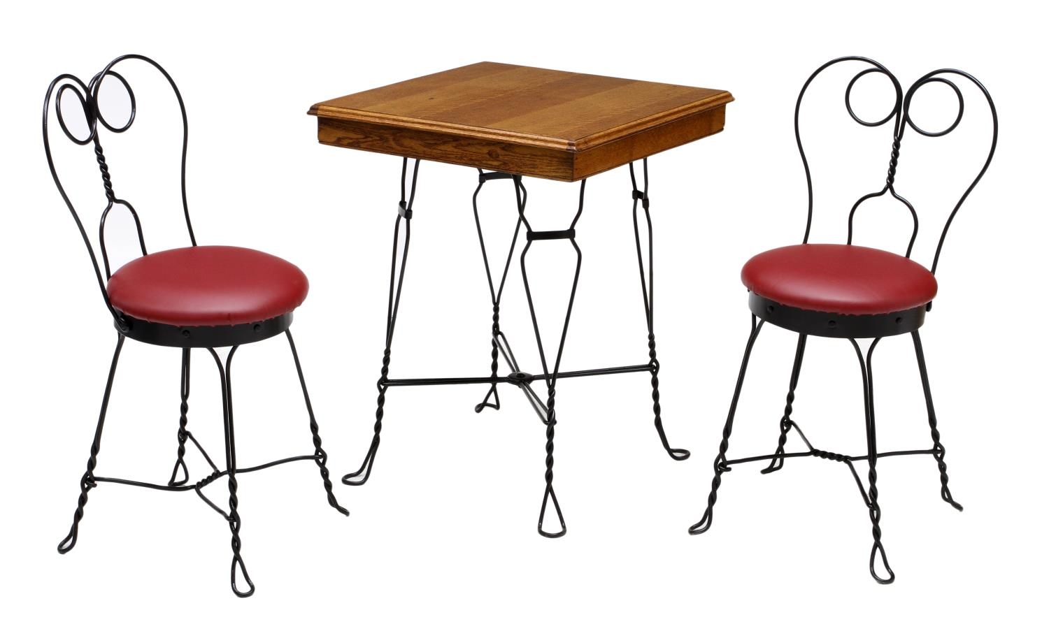 Ice Cream Table And Chairs 3 American Ice Cream Parlor Table And Chairs February