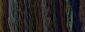 Dark Bead Strands