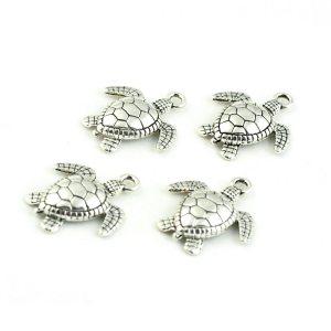 Metal Sea Turtle Charms