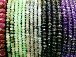 Faceted Stone Beads