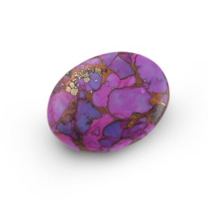 Oval Purple Cabochon